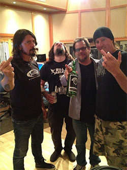 BL'AST! 606 studio Dave_Grohl