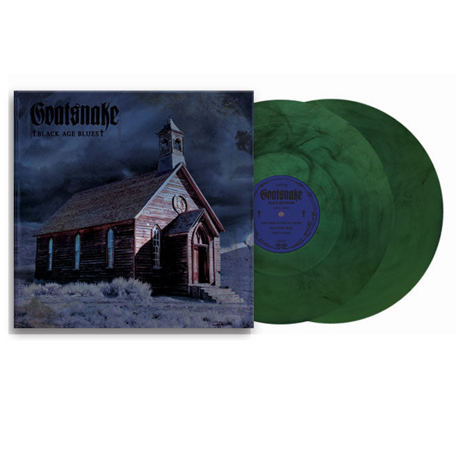 Goatsnake Black Age Blues -Green and Black Splatter Vinyl
