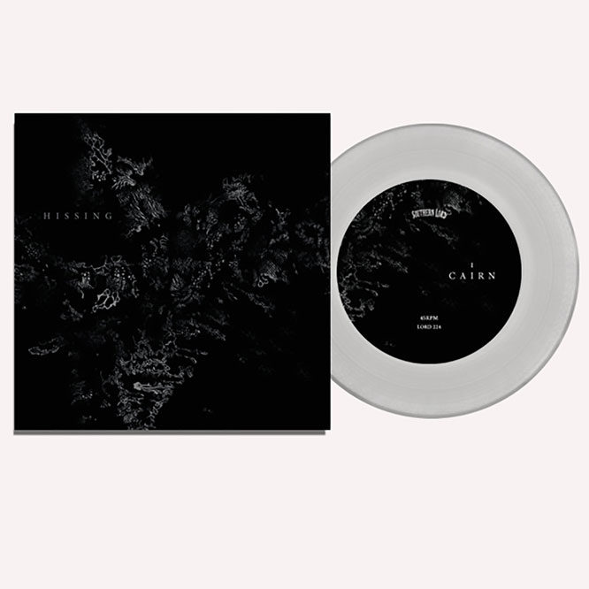 Lord221 Hissing - S/T Clear Vinyl