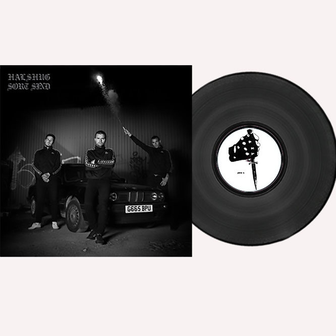 Lord229 Halshug Sort Sind - black vinyl
