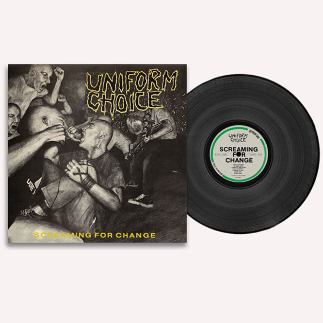 Screaming For Change - Black vinyl LP