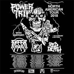 Power Trip tourposter