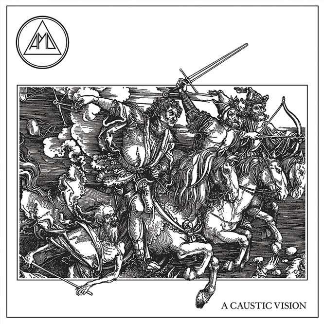 All Pigs Must Die – A Caustic Vision - Opaque Red Vinyl
