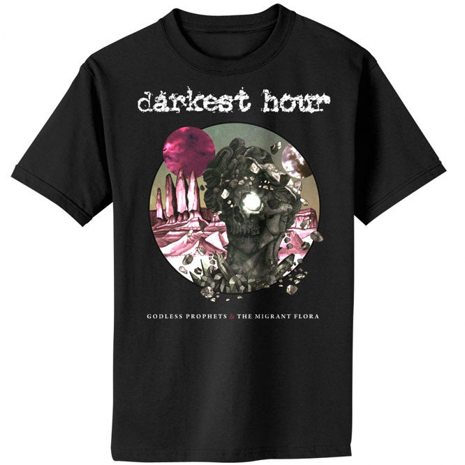 Darkest Hour – Godless Prophets & The Migrant Flora Cover Shirt