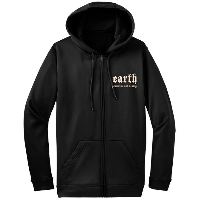 Earth – Primitive & Deadly Logo + Sigil Hooded Zipper Sweatshirt