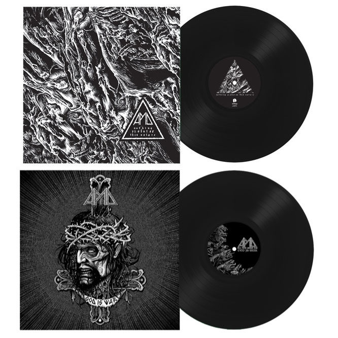 Lord130 God Is War - Black Vinyl + Nothing Violates This Nature - Black Vinyl (PRE-ORDER) All Pigs Must Die – God Is War - Black Vinyl + Nothing Violates This Nature - Black Vinyl