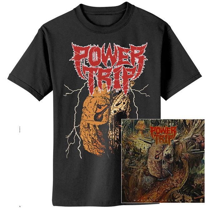 Power Trip – Manifest Decimation CD Shirt