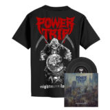 Power Trip – Nightmare Logic - Black Vinyl + Reaper Shirt
