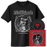 Wolfbrigade – Run With The Hunted - Black Vinyl with Cover Shirt