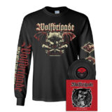 Wolfbrigade – Run With The Hunted - Black Vinyl with Warsaw Speedwolf Long Sleeve Shirt