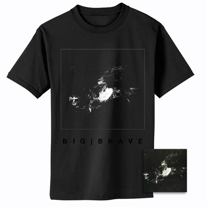 BIG|BRAVE – Ardor CD + Cover Shirt