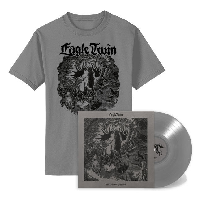 The Thundering Heard - Silver (Southern Lord 20th anniversary edition) + Cover Shirt package