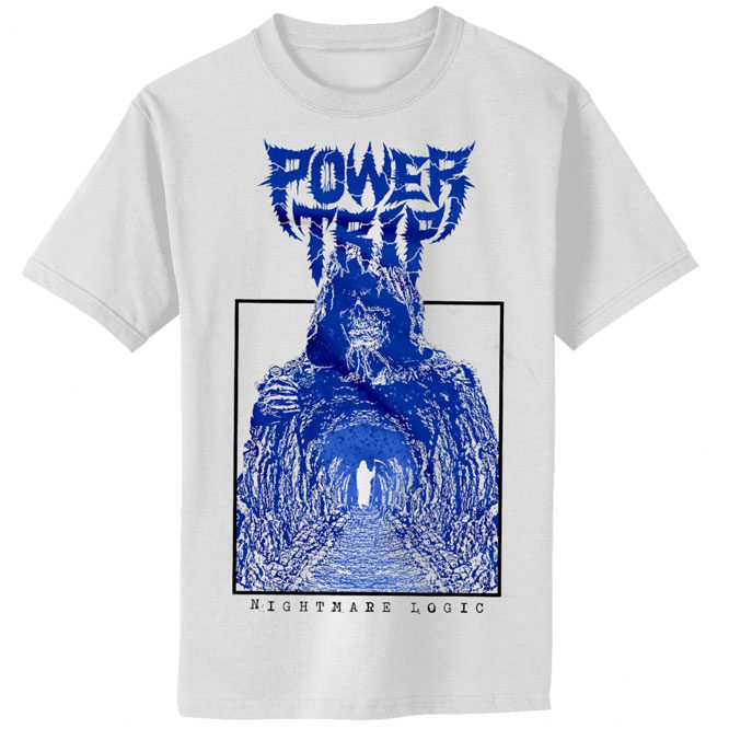 Power Trip – Nightmare Logic Death Tunnel shirt