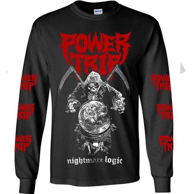 Power Trip – Nightmare Logic Reaper Long Sleeve shirt