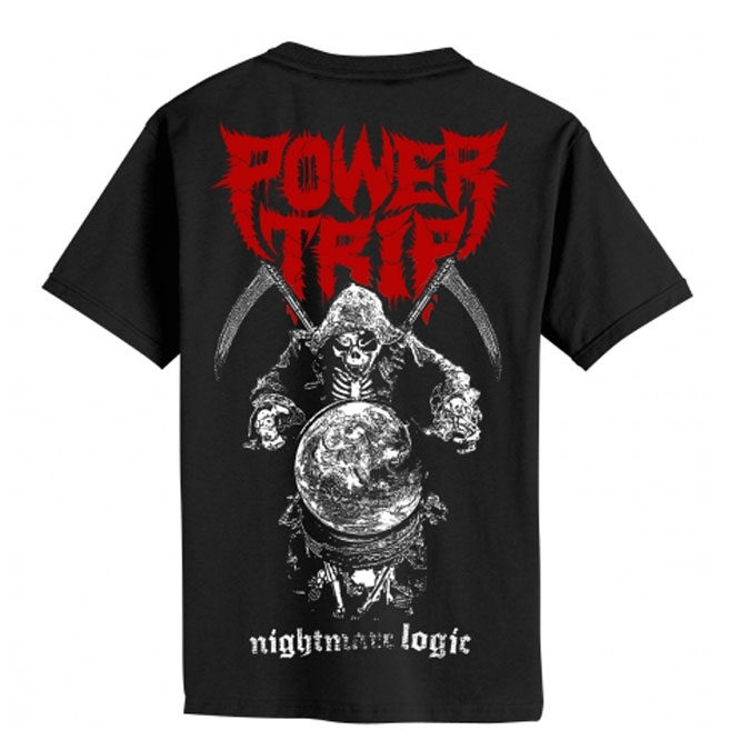 Power Trip – Nightmare Logic Reaper shirt