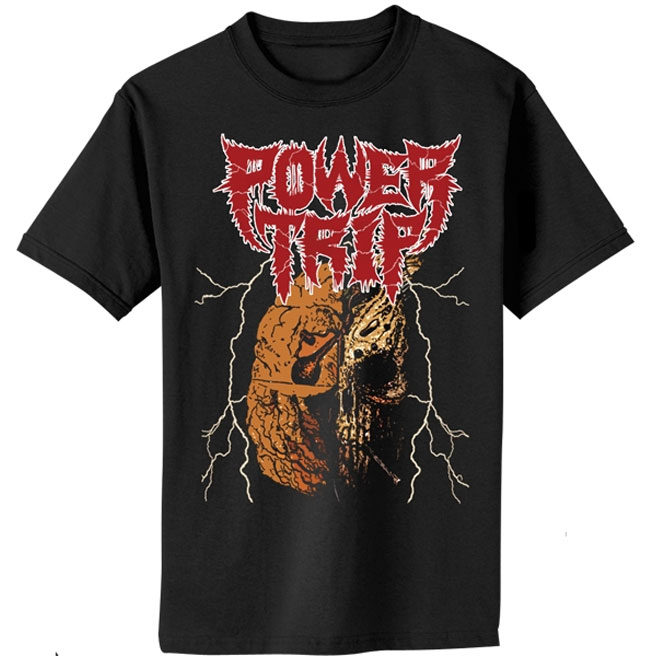 Power Trip – Manifest Decimation Skull shirt