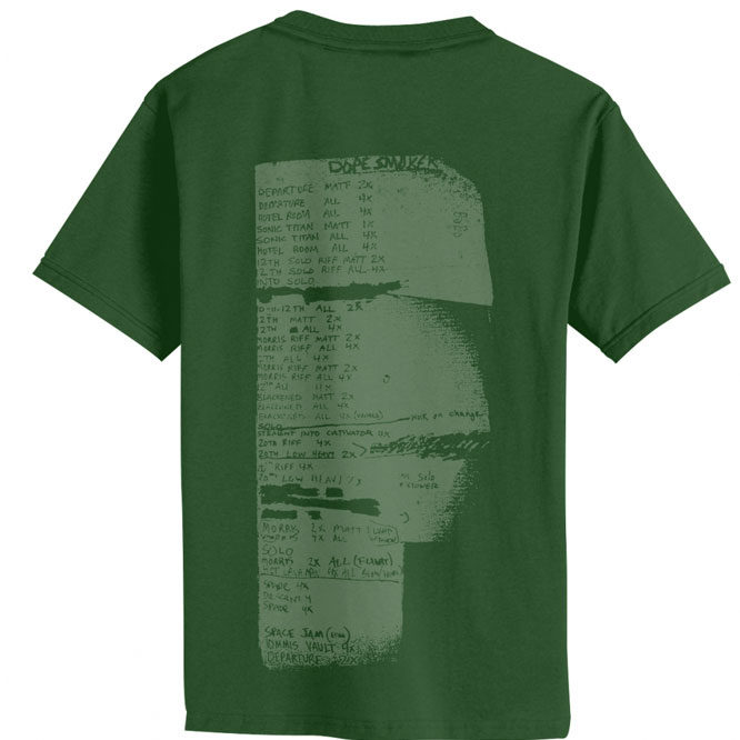 Sleep - Dopesmoker (Dark Green) shirt