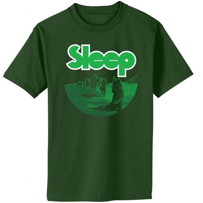 Sleep - Dopesmoker (Dark Green) shirt