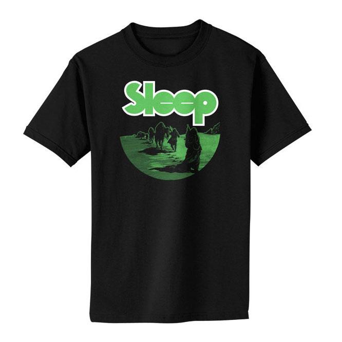 SLEEP - Dopesmoker Black Shirt
