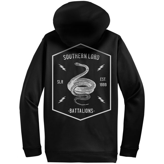 Southern Lord Battalions Zip UP Hoodie