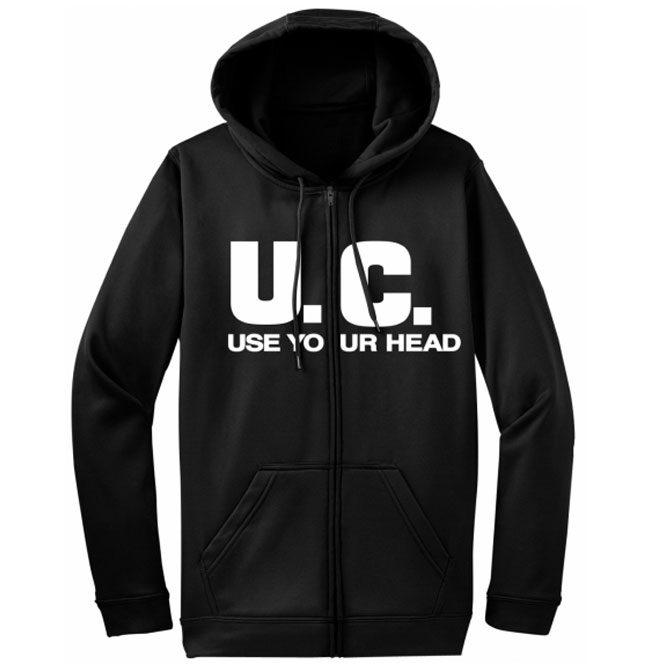 Uniform Choice – Use Your Head ZIP UP Hoodie (Lord233-SZ)