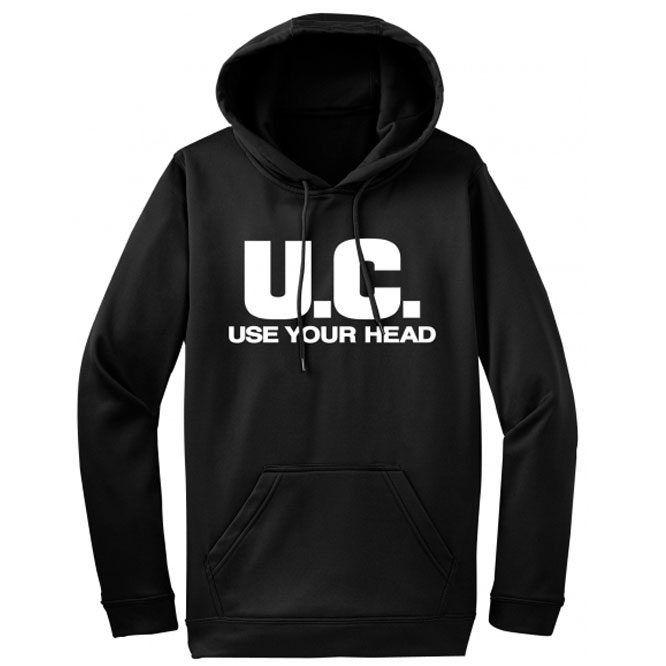 Uniform Choice – Use Your Head PULLOVER Hoodie