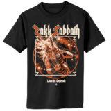 Zakk Sabbath – Live in Detroit Cover Shirt