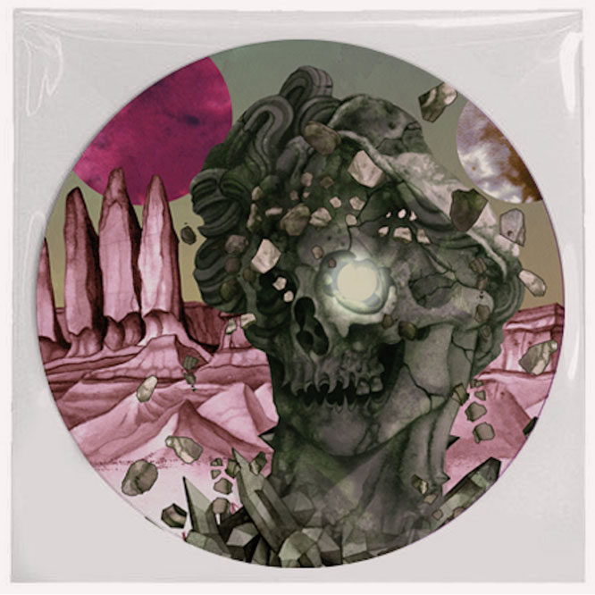 Godless Prophets & The Migrant Flora- Picture Disk front
