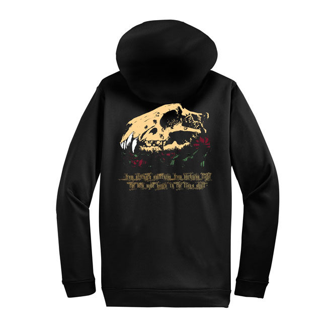 Sunn90 Earth - The Bees Made Honey In The Lion's Skull Zip Hoodie