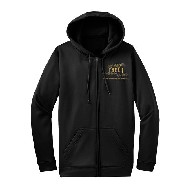 SUNN90 Earth - The Bees Made Honey In The Lion's Skull Zip Hoodie Front