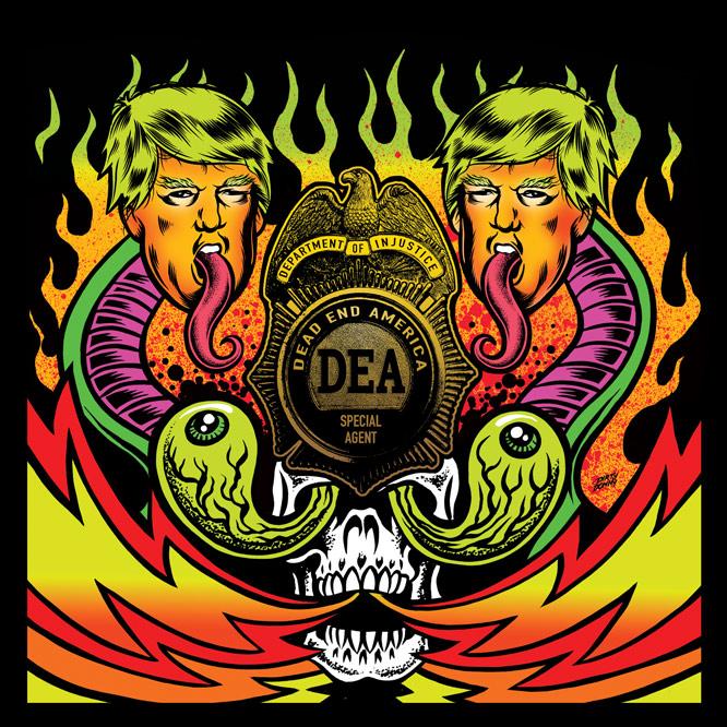 "LORD281 Dead End America - Crush the Machine 7"""